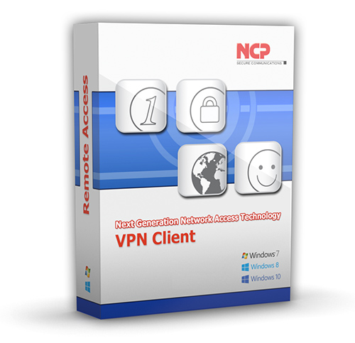 NCP Secure Entry Windows Client Vollversion Staffelpreis ab 10 Lizenzen