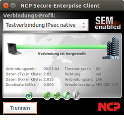 NCP Managed Secure Enterprise Client Linux, IGEL Edition