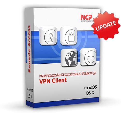 NCP Secure Entry Client MacOS Update Staffelpreis ab 50 Lizenzen