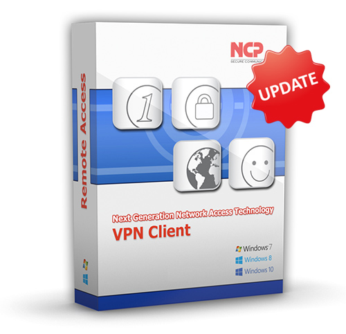 NCP Secure Entry Windows Client Update Staffelpreis ab 10 Lizenzen