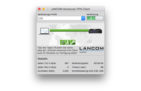 LANCOM Advanced VPN Client MacOS Update