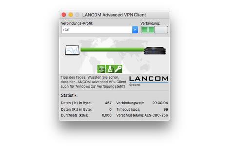 LANCOM Advanced VPN Client V.4 MacOS Vollversion